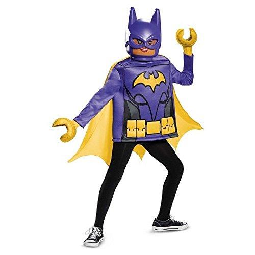 Lego Batman Costumes (Batman Lego Movie Classic Child Costume - Batgirl ~ Size 7/8)