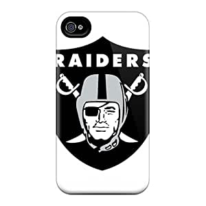 New Protective Iphone 4/4s Classic Hardshell Oakland Raiders Cases