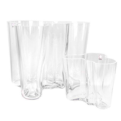 - Iittala Set of 2 Aalto Vases