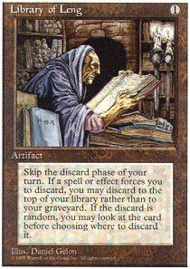 Magic: the Gathering - Library of Leng - Fourth Edition