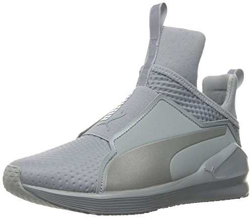 PUMA Women's Fierce Quilted Cross-Trainer Shoe, Quarry Silver, 6.5 M US Review