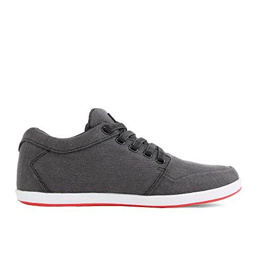 Low K1x Dark Grey Red Black Tweed Lp IwrWqwY5
