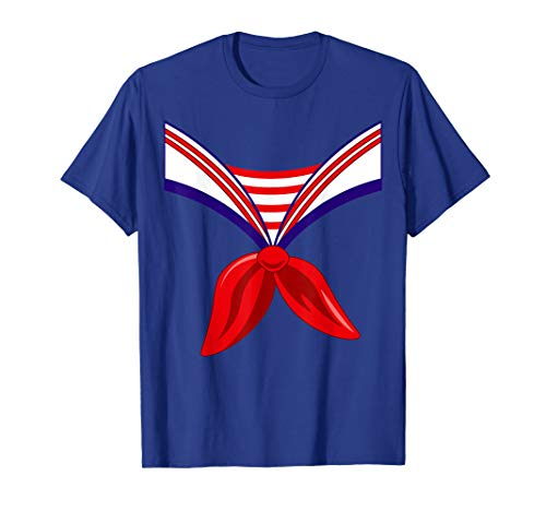 Sailor Costume Shirt Halloween Seaman -