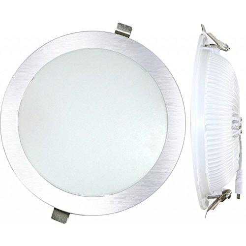 Silver Electronics Bombilla LED 6000K, 25 W, Plateado, 23 x 23 x 4.8 cm: Amazon.es: Iluminación