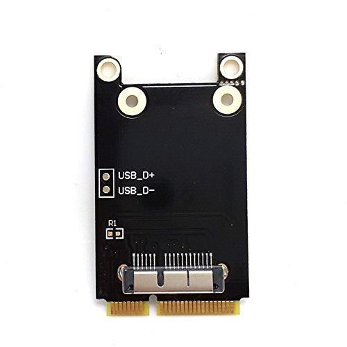 UXOXAS Wireless WIFI Mini PCI-E Card for Macbook Broadcom BCM94360CD//BCM94331CD BCM94331CD BCM943224P