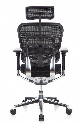 Ergohuman Bürostuhl mit Netz-Stoff, schwarz - 8