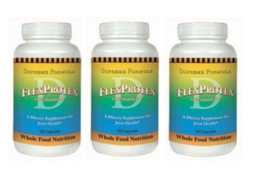 FlexProtex® Formule Avancée - (120 Caps) - 3 Bouteilles