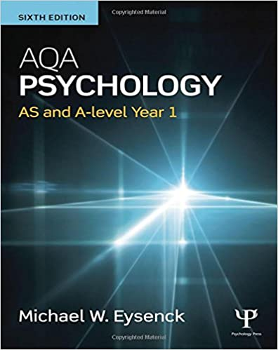 Book AQA Psychology: AS and A-level Year 1