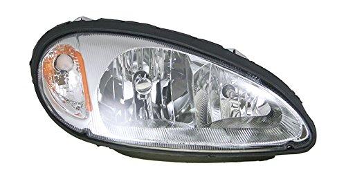 Headlight Headlamp Passenger Side Right RH for 01-05 Chrysler PT Cruiser