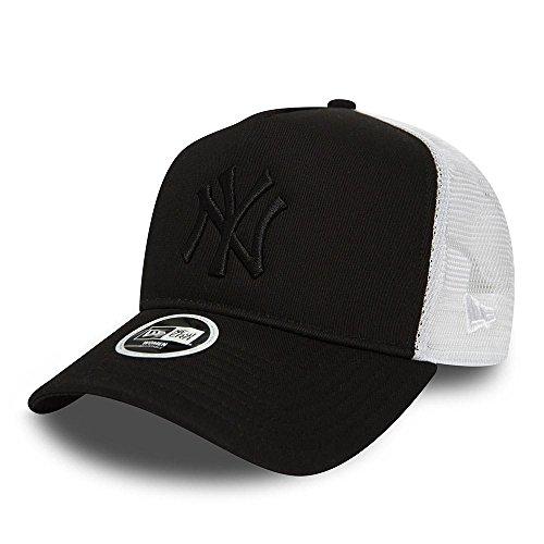 好き受益者枯れるニューエラ (New Era) 女子 メッシュキャップ キャップ - ニューヨーク?ヤンキース (New York Yankees) ブラック/ホワイト