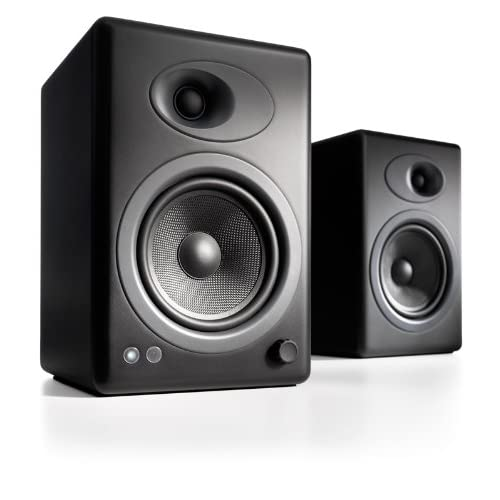 Audioengine A5+ Active 2-Way Speakers (Black)
