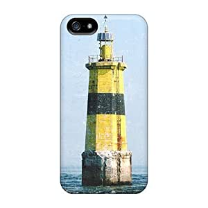 Diy Yourself Back case covers Covers For Iphone 5/5s - Yellow IJ7RzcoYAtS Light House