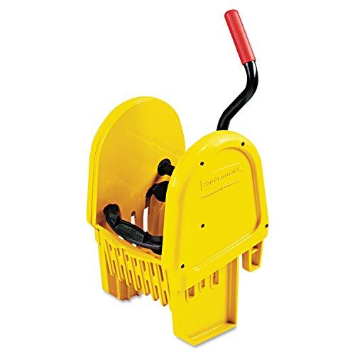 Rubbermaid Commercial RCP 7575-88 YEL WaveBrake Down-Press Wringer, Yellow (Rubbermaid Downpress)
