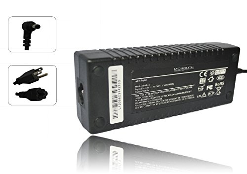 Monolith Industry 150W Ac Adapter Charger for MSI GS40-6QE-020RU Phantom ; MSI GS40 6QE-019RU Phantom ; MSI GS40-6QE-026CZ Phantom ; MSI GS40-6QE-014FR Phantom ; MSI GE72 6QF-009RU Apache Pro