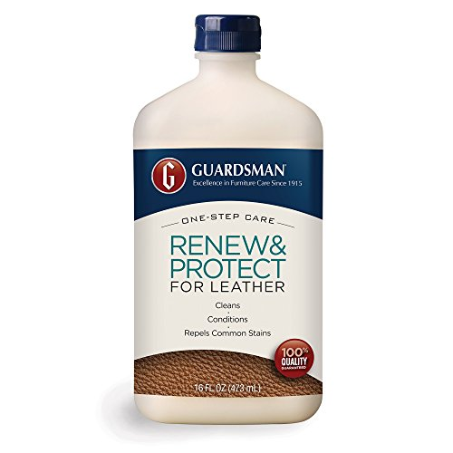 guardsman renew protect for leather 16 oz cleans conditions protects pricepirates. Black Bedroom Furniture Sets. Home Design Ideas