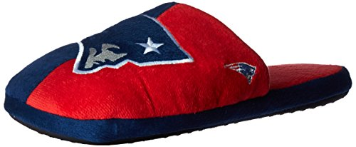 - New England Patriots Split Color Slide Slipper Medium