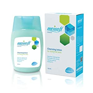 Apeiro moisoft cleansing lotion for sensitive skin 125ml (Pack of 2)