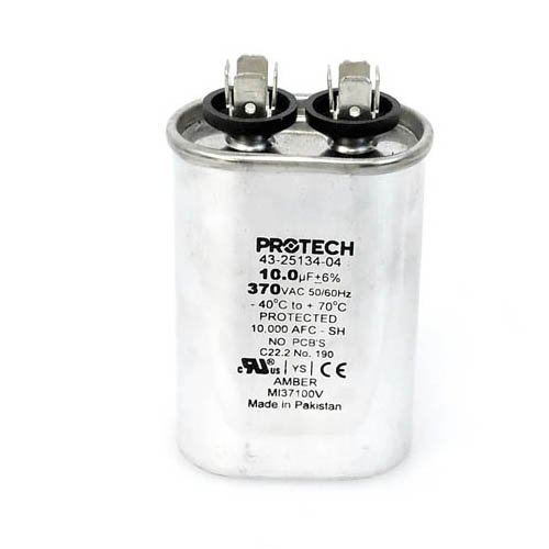 43-20847-12 Weather King OEM Oval Replacement Run Capacitor 10 UF//MFD 370 Volt