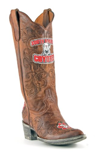 Ncaa South Dakota Coyotes Womens 13-inch Gameday Boots Messing