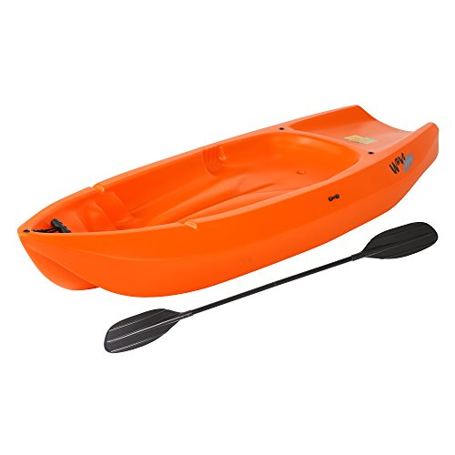 Lifetime Wave Youth Kayak with Paddle 6-Feet, Orange