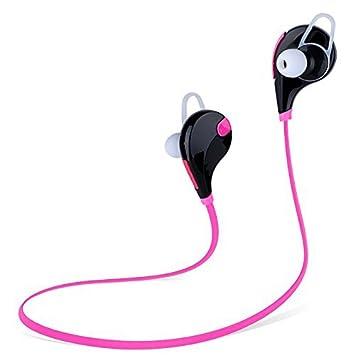SOUNDWORX QY7 Audífonos Ligeros Inalámbricos con Bluetooth 4.1 para iOS, Android, Smart phones,