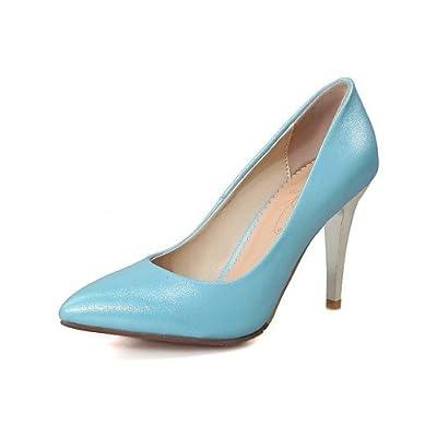 Ggx femme Chaussures en microfibre Printemps été automne talons talons  Mariage bureau 3256e6a9f6f6