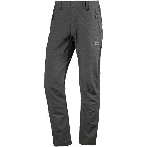 Jack Wolfskin Men's Activate Sky Softshell Hiking Pants, Black, Size46(US-M-32/31)