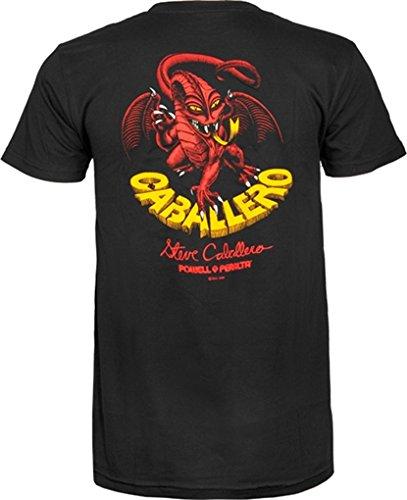 Powell T-Shirt: Cab Dragon II [Medium] Black