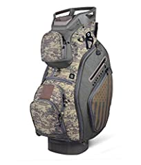 Sun Mountain's best-selling cart bag, the C-130 was created to work optimally on a cart. This is the non-stock option. All of the features are designed with cart use in mind, starting with the reverse orientation top with three utility handle...