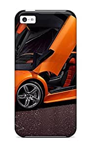 New Diy Design Lamborghini Murcielago For Iphone 5c Cases Comfortable For Lovers And Friends For Christmas Gifts