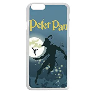 Customized White Plastic Disney Cartoon Peter Pan Case Cover For SamSung Galaxy S3 Case, Only fit Iphone 5/5S