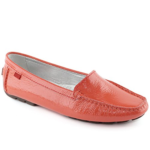 York Loafer in Manhasset New Coral Patent Driving Marc Made Joseph Women's Style Brazil Leather 6YCxnETP