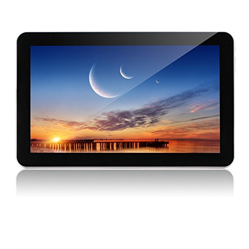 iRULU eXpro X1s 10.1 Inch Tablet PC, Android 5.1 Lollipop, Quad Core, 8GB - Black (Best Facebook Status To Get The Most Likes)