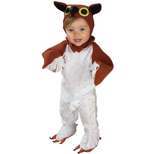 lil wise guy infant owl costume 6 12