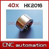 Ochoos 40pcs HK2016 Needle Roller Bearing