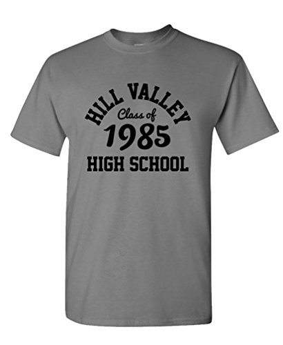 hill-valley-high-school-funny-retro-bttf-mens-cotton-t-shirt-s-charcoal