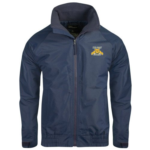 CollegeFanGear North Carolina A/&T Navy Charger Jacket NC A/&T Aggies