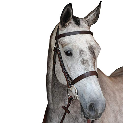 Cavesson Bridle - Collegiate Hunt Cavesson Bridle Full Brown