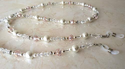 Collier de perles dans zartrosa chaîne rose chaîne