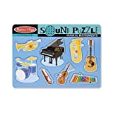 SCBLCI732-4 - MUSICAL INTRUMENTS SOUND PUZZLE pack of 4