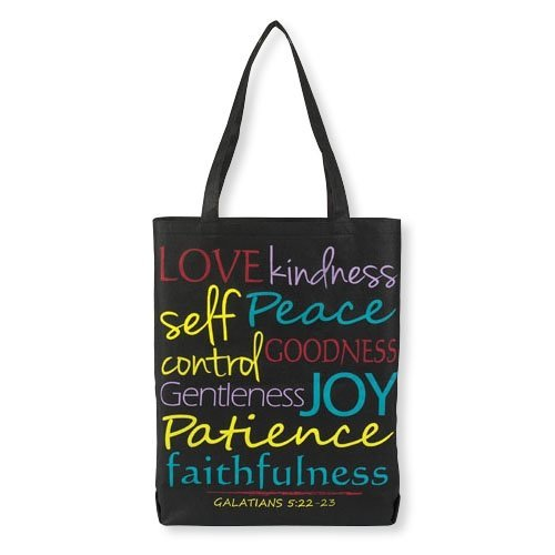 Christian Religious Tote Bag - Fruits of the Spirit Tote Bag