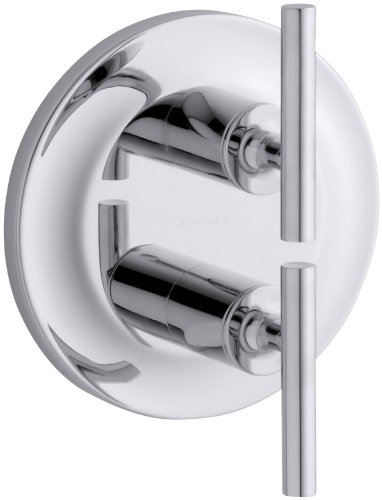 (KOHLER K-T14489-4-CP Purist Stacked Valve Trim, Polished Chrome)