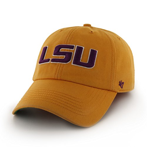 '47 NCAA Lsu Tigers Franchise Fitted Hat, Gold, X-Large (Franchise Cap)
