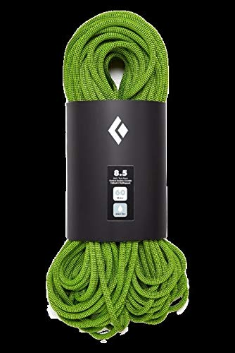Black Diamond 8.5 Dry Climbing Rope - Green 60m ()