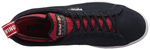 Puma Mens Red Bull Racing Mocka Sneaker Natthimlen-fresia-kinesiska Röda