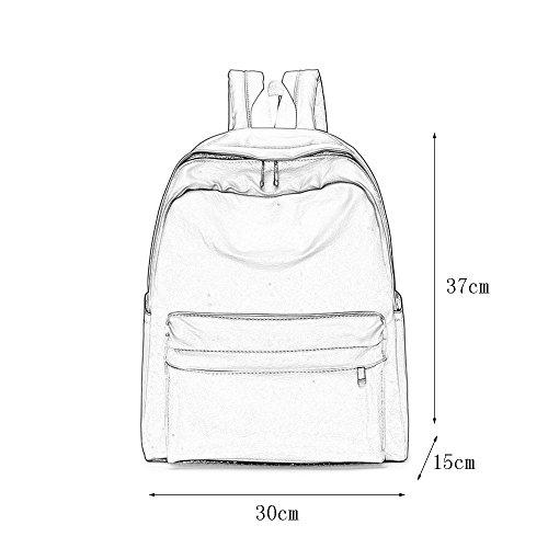 Mochila la Oxford de Bolso del del C de Femenino paño Estudiante del Impermeable Bolso Bolso Mochila Backpack del la Viaje de ZtTqnxgg