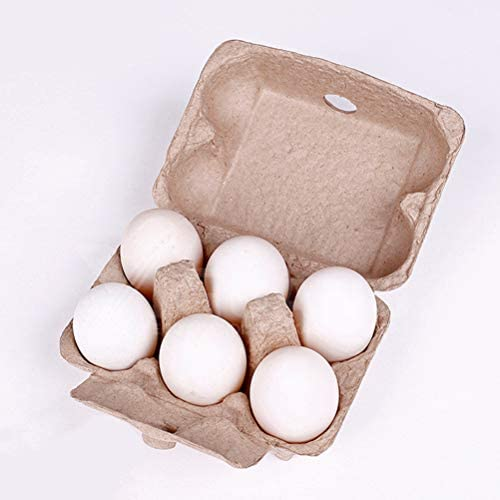 ULTECHNOVO 15pcs Folding Egg Holder Tray Egg Carton Chicken Farm Equipment Egg Storage Portable Tray Box Carton Tray Bulk 6-Count