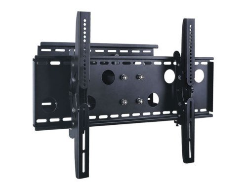 2xhome - Universal Full Motion Swivel Articulating Tilt Tilting Single Arm Extra Extended Extension Wall Mount Bracket for LED LCD Plasma TVs for 40