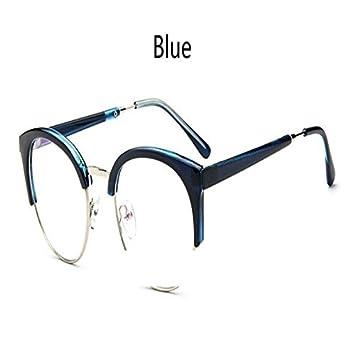 ffc883fda9329 BuyWorld Cheap Transpat Spectacle Frame Anti-Fatigue for Cat Eyes Men s  Glasses Women Oculos De Grau Masculino Retro Vintage Eyewear  Amazon.in   Home   ...