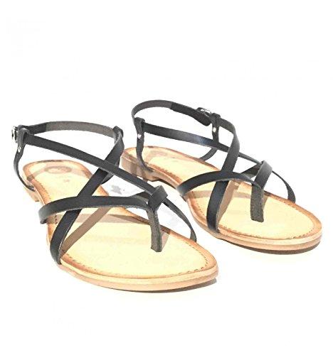 Gioseppo - Sandalias de vestir de Piel para mujer negro negro